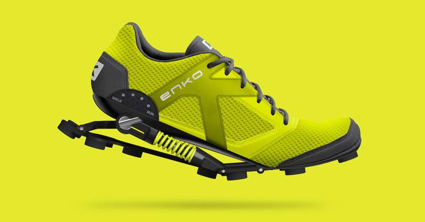 b73c0c69081c Enko - Enko running shoes design   Portfolio