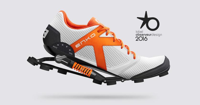 Enko - Enko running shoes design